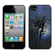 Insten® Back Protector Cover F/iPhone 4/4S, Web of Iron Steel