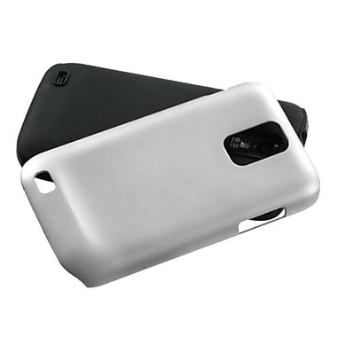 Insten® Fusion Faceplate Case For Samsung T989 Galaxy S2 T-Mobile, White