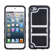 Insten® Gummy Armor Stand For iPod Touch 5th Gen, White