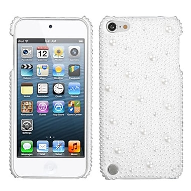 Insten® Slim Back Protector Cover For iPod Touch 5th Gen, 3D White Pearl