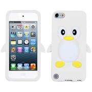 Insten® Pastel Skin Cover For iPod Touch 5th Gen, White Penguin