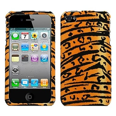 Insten® Phone Protector Cover F/iPhone 4/4S, Wild Tiger