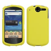 Insten® Rubberized Phone Protector Cover For Huawei U8800 Impulse 4G, Yellow