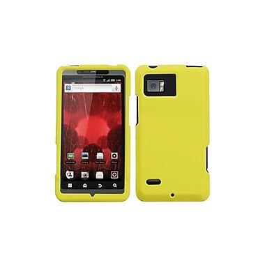 Insten® Protector Case For Motorola XT875 Droid Bionic, Yellow