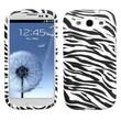 Insten® Candy Skin Case For Samsung Galaxy SIII, Zebra