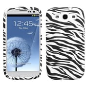 Insten® Candy Skin Case For Samsung Galaxy SIII, Zebra