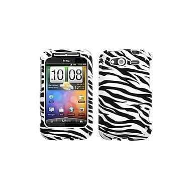 Insten® Protector Case For HTC WildFire S GSM/WildFire S CDMA, Zebra