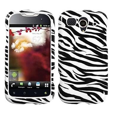 Insten® Phone Protector Cover For Huawei U8680 myTouch, Zebra Skin