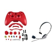 Insten® 1027555 2-Piece Game Headset Bundle For Microsoft Xbox 360