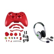 Insten® 1027557 2-Piece Game Headset Bundle For Microsoft Xbox 360