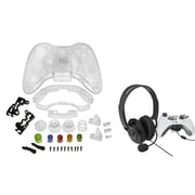 Insten® 1027558 2-Piece Game Headset Bundle For Microsoft Xbox 360