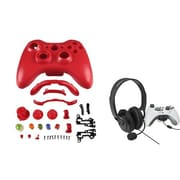Insten® 1027559 2-Piece Game Headset Bundle For Microsoft Xbox 360