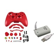 Insten® 1027561 2-Piece Game Battery Bundle For Microsoft Xbox 360 Wireless Controller