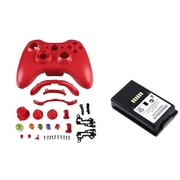 Insten® 1027567 2-Piece Game Battery Bundle For Microsoft Xbox 360 Wireless Controller