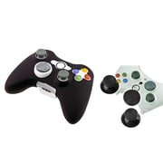 Insten® 1027579 2-Piece Game Others Bundle For Microsoft Xbox 360 Slim Controller