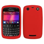 Insten® Soft Silicone Skin Case For RIM BlackBerry 9350/9360/3700, Red