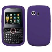 Insten® Soft Silicone Skin Case For Huawei M615 Pillar/M635 Pinnacle, Dark Purple