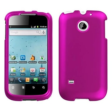 Insten® Phone Faceplate Case For Huawei M865 Ascend II, Titanium Solid Hot-Pink