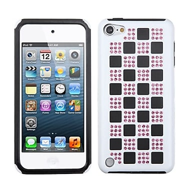 Insten® Diamante Duple Protector Covers For iPod Touch 5th Gen