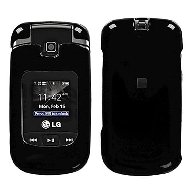 Insten® Protector Cover For LG VX8370/Clout, Solid Black