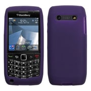 Insten® Soft Silicone Skin Case For RIM BlackBerry 9100 (Pearl 3G), Dark Purple