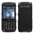 Insten® Phone Faceplate Case For BlackBerry 9100/Pearl 3G, Carbon Fiber