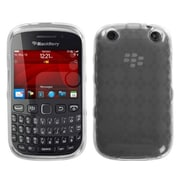 Insten® Check TPU Protector Case For BlackBerry 9310, Clear