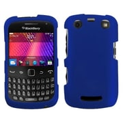Insten® Phone Faceplate Case For BlackBerry 9350/9360, Titanium Solid Dark Blue