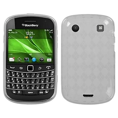 Insten® Argyle Candy Skin Cover For BlackBerry 9930/9900, T-Clear