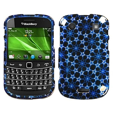 Insten® Phone Protector Cover For BlackBerry 9930/9900, Twinkle Stars/Blue 2D Silver Sparkle