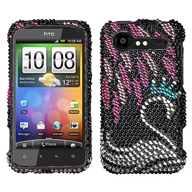 Insten® Diamante Protector Cover For HTC ADR6350 Droid Incredible 2, Swan
