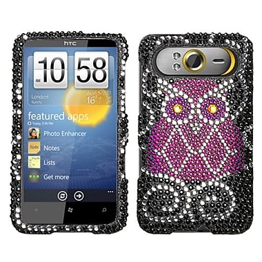 Insten® Diamante Protector Case For HTC HD7, Owl