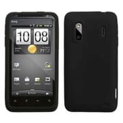 Insten® Skin Case For HTC ADR6285 Hero S/EVO Design 4G/Hero 4G/Kingdom, Black