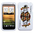 Insten® Protector Cover For HTC-One X/X+, Joker Playing Card