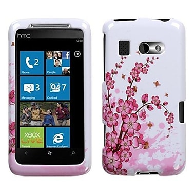Insten® Protector Cover For HTC Surround, Spring Flowers