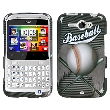 Insten® Faceplate Case For HTC Status/ChaCha, Baseball