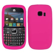 Insten® Silicone Skin Gel Cover Case For Huawei M636 Pinnacle 2, Solid Hot-Pink
