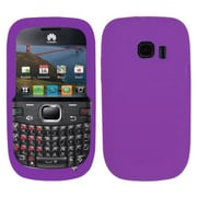 Insten® Silicone Skin Soft Phone Case For Huawei M636 Pinnacle 2, Electric Purple
