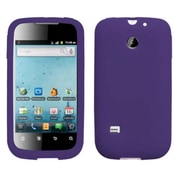 Insten® Soft Silicone Skin Case For Huawei M865 Ascend II, Dark Purple
