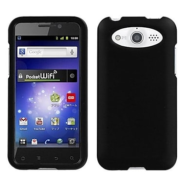 Insten® Rubberized Phone Protector Cover For Huawei M886 Mercury, Black