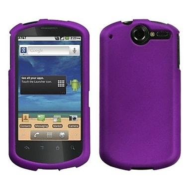 Insten® Rubberized Phone Faceplate Case For Huawei U8800 Impulse 4G, Grape