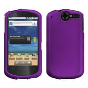 Insten® Rubberized Phone Faceplate Case For Huawei U8800 Impulse 4G, Grape