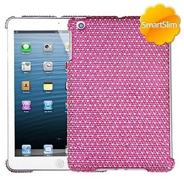 Insten® Diamante SmartSlim Back Protector Cover For iPad Mini/iPad Mini 2, Hot-Pink/White Dots