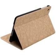 Insten® Canvas MyJacket With Tray For iPad Mini/iPad Mini 2, Light Brown