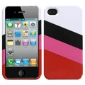 Insten® MyColor Splash 007 Protector Cover For iPhone 4/4S