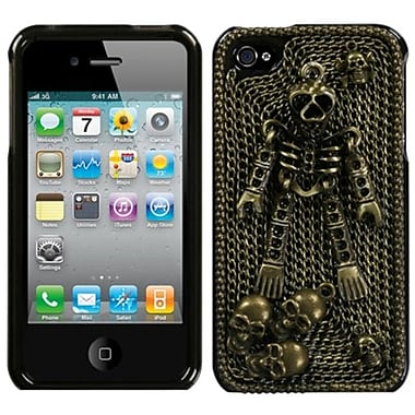Insten® Crystal Premium 3D Diamante Protector Covers F/iPhone 4/4S