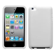 Insten® Soft Skin Cover For iPod Touch 4th Gen, Semi Translucent White