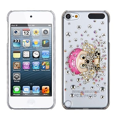 Insten® Diamante Back Protector Cover For iPod Touch 5th Gen, Dog-Gnaw-Bone Crystal 3D
