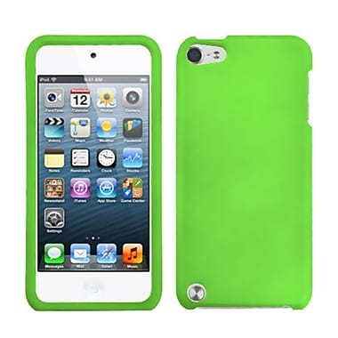 Insten® Rubberized Phone Protector Cover For iPod Touch 5th Gen, Dr Green