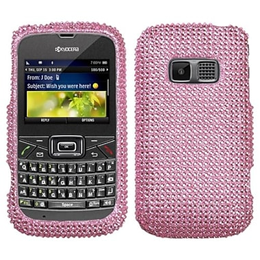 Insten® Diamante Protector Cover For Kyocera S3015 Brio, Pink